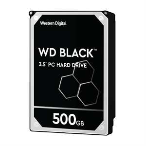 Western Digital Black .500GB 3.5  SATA Hard Drive